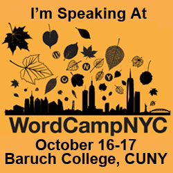 WordCampNYC – Oct 16-17