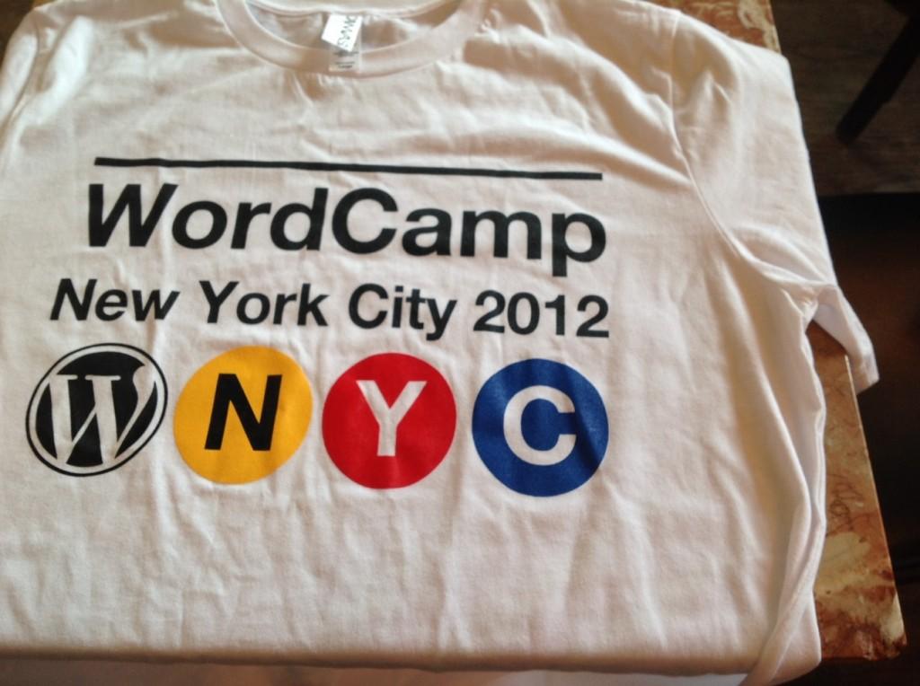 WCNYC t-shirt