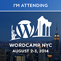 I'm Attending WordCamp NYC – August 2-3, 2014