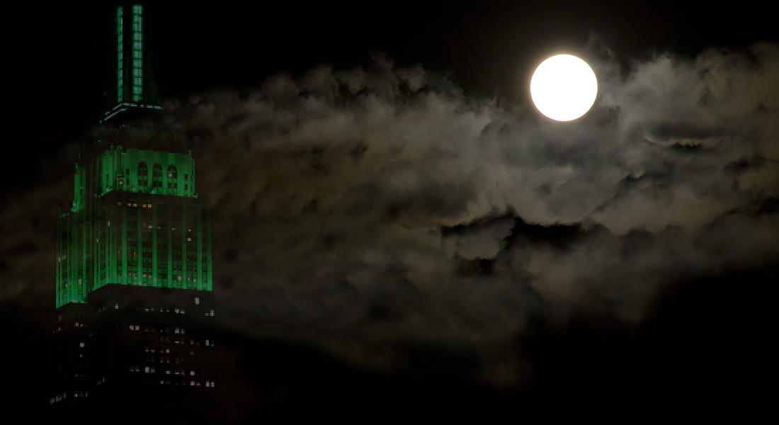 ESB on a spooky night